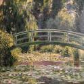 The Japanese Footbridge, Giverny - Monet