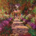 Path in Monet's Garden, Giverny - Monet