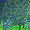 Roses under the Trees - Klimt